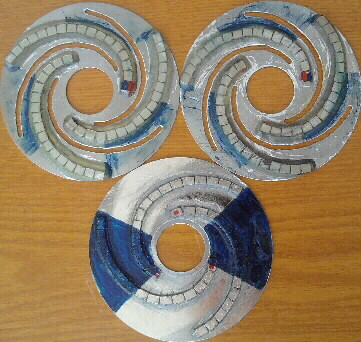 3 спиральных диска