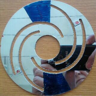 по 1 магниту на 2-х cпиральных полосах
