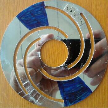 магниты на 2-х cпиральных полосах