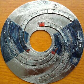 нижняя сторона диска